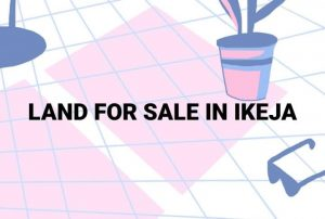 Land for sale in ikeja