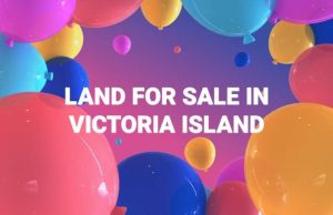 Land for sale in victoria island